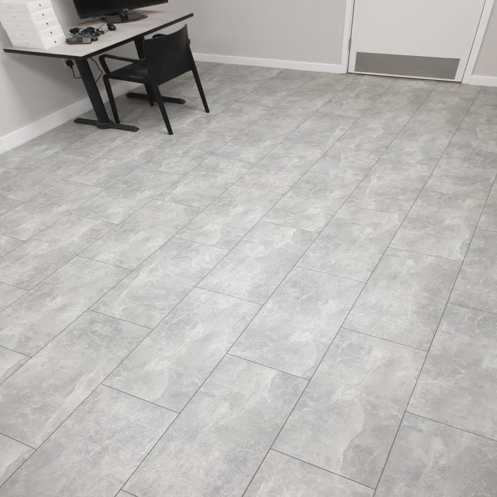 Krono 8mm Light Atelier Tile Laminate, Laminate Flooring To Tile