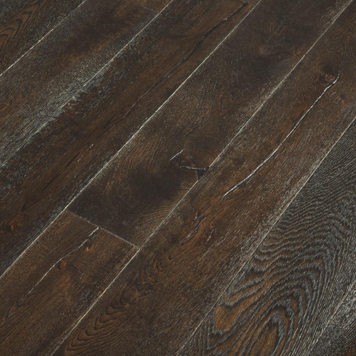 Reclaimed Oak Engineered Wood Flooring, Dark Oak Wood Laminate Flooring