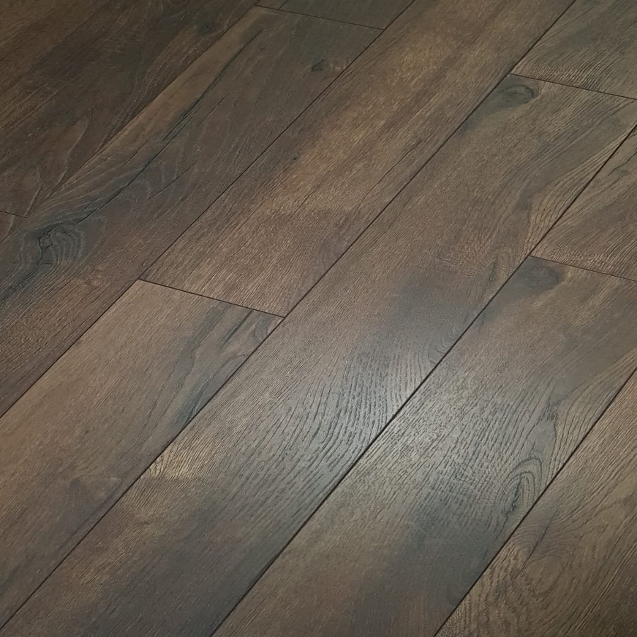 Kronotex Petterson Oak Dark 10mm Narrow, Tough Laminate Flooring