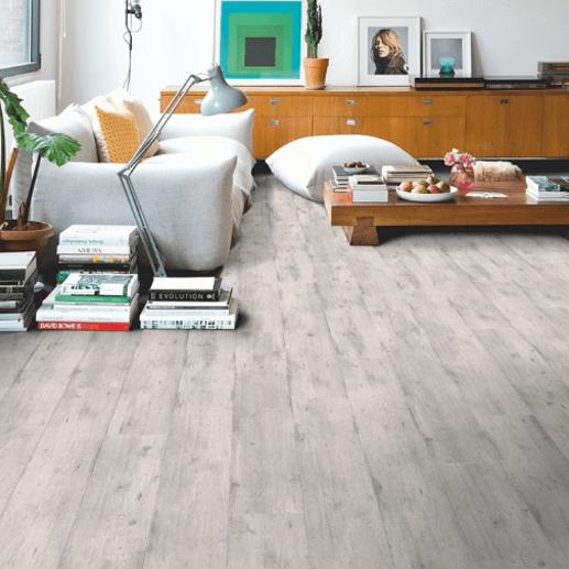 Concrete Wood Light Grey Laminate Flooring, Light Laminate Flooring