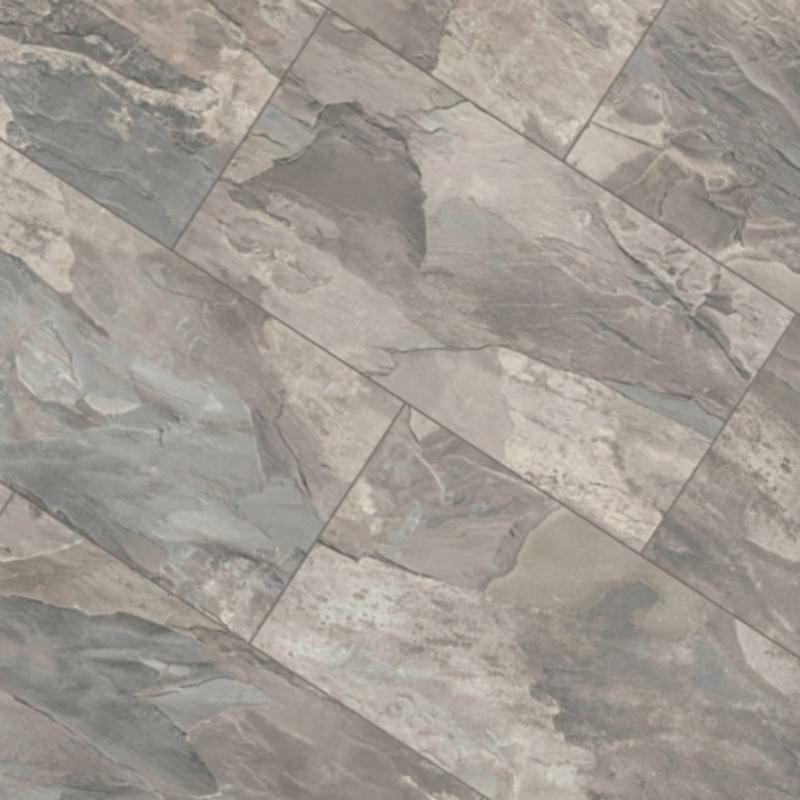 Krono 8mm Silverado Slate Tile Laminate, Stone Tile Effect Laminate Flooring