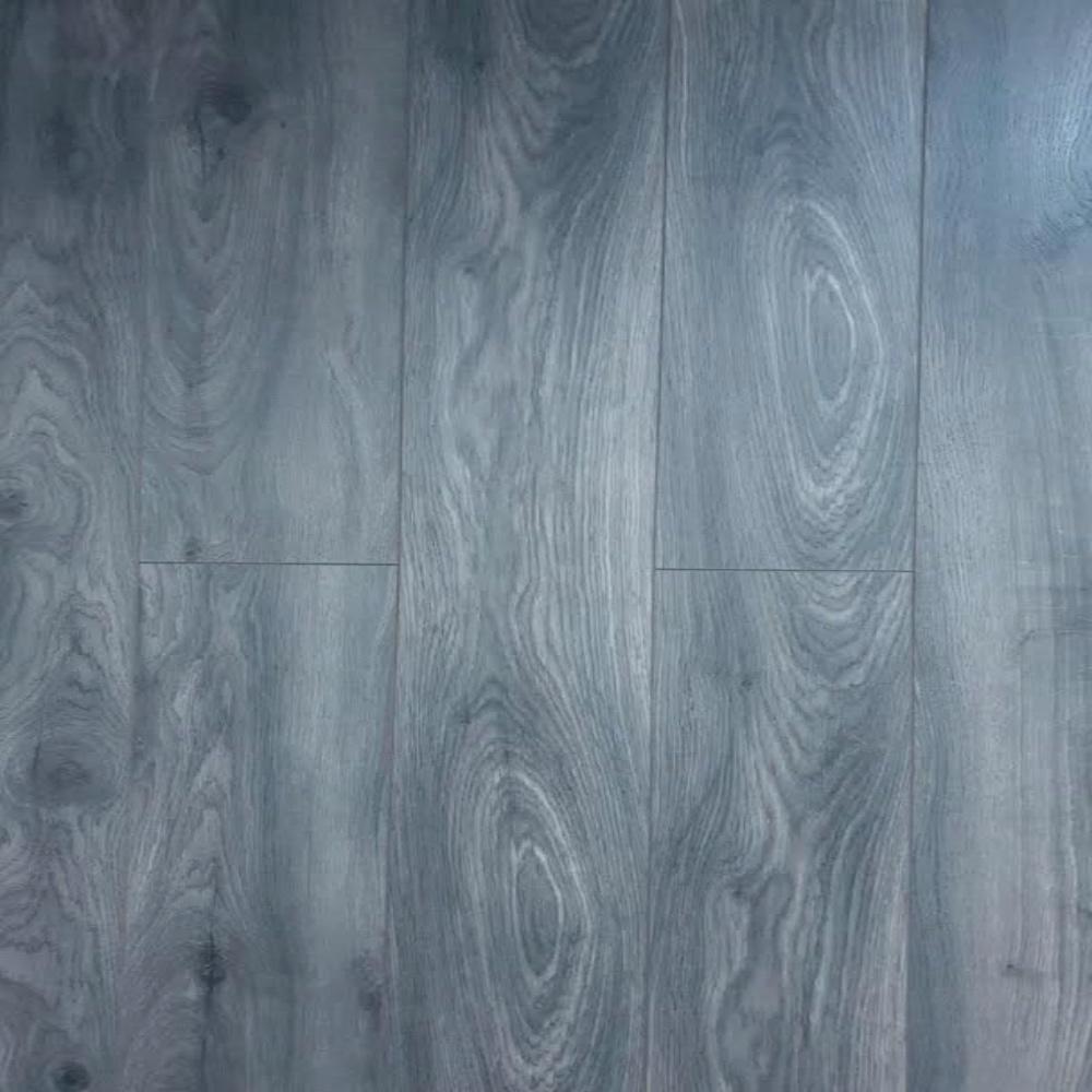 Krono Elite Tomahawk Oak 12mm Ac5, Blue Gray Laminate Flooring