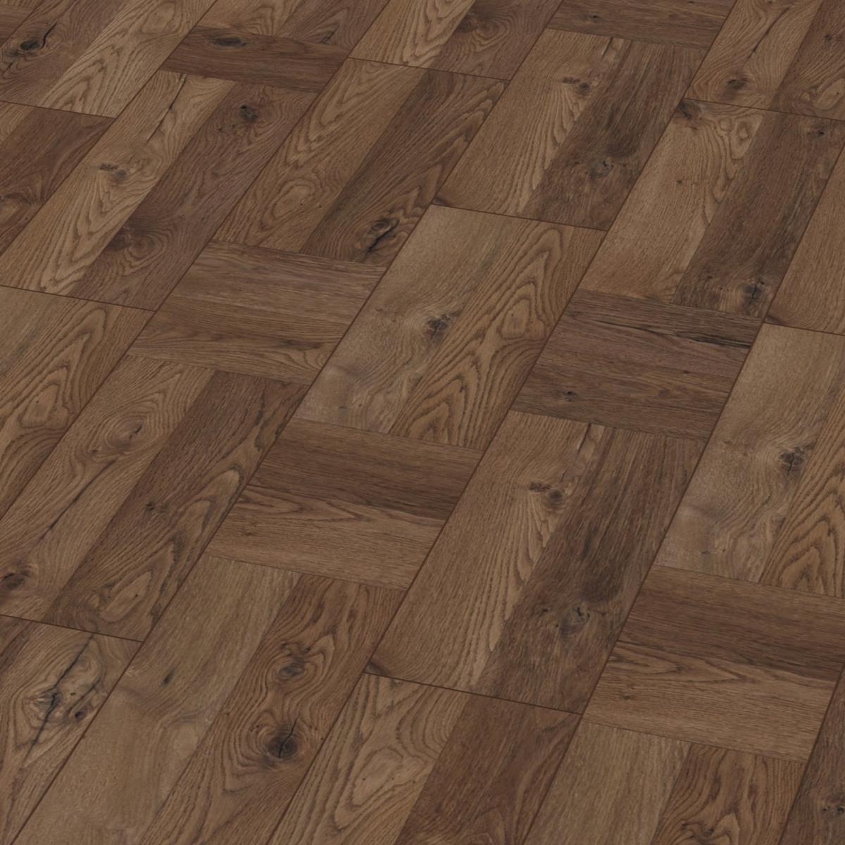 Krono Visby oak grey wide 8mm v groove laminate flooring SAMPLE ...
