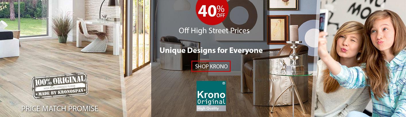 Krono Flooring - New Decor - SHOP Flooring