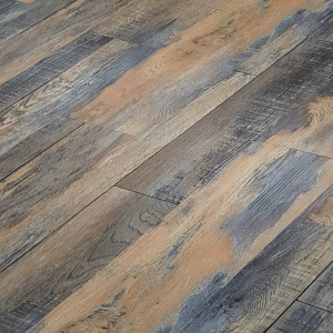 Distressed autumn oak WPC luxury vinyl flooring tiles LVT Click flooring