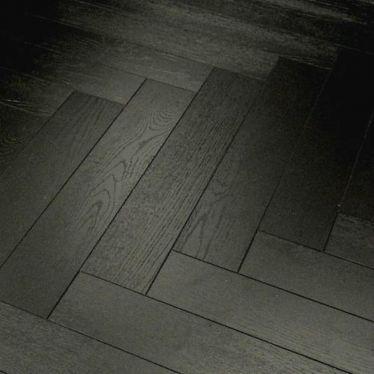Vintage herringbone black oak 12mm laminate flooring
