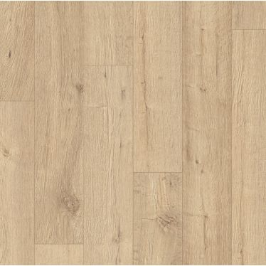 Quick Step Impressive Sandblasted Oak Natural Laminate Flooring - IM1853