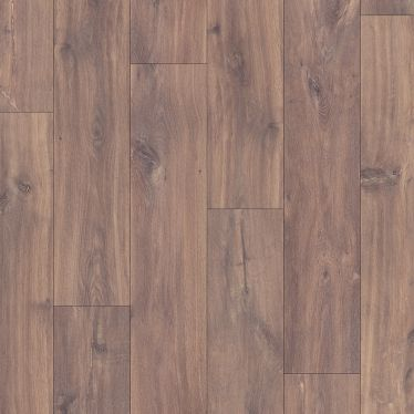 Quick Step Classic Midnight Oak Brown Laminate Flooring - CLM1488