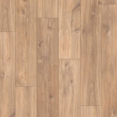Quick Step Classic Midnight Oak Natural Laminate Flooring - CLM1487