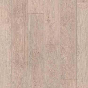 Quick Step Classic Bleached White Oak Laminate Flooring - CLM1291