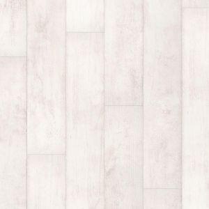 Quick Step Classic Bleached White Teak Laminate Flooring - CLM1290
