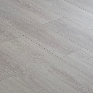 Egger white oyster oak 12mm V groove laminate flooring