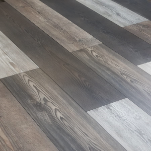 Egger multi  grey pine 12mm V groove laminate flooring