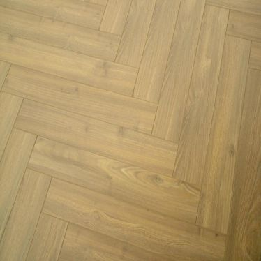 Vintage herringbone dusky oak 12mm laminate flooring