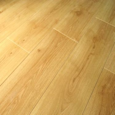 Prestige oak planked honey V groove laminate flooring