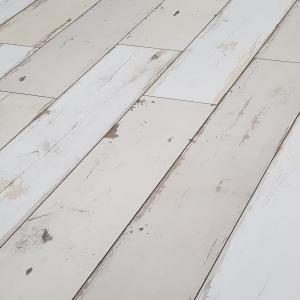 Krono oak brave white 8mm v groove laminate flooring