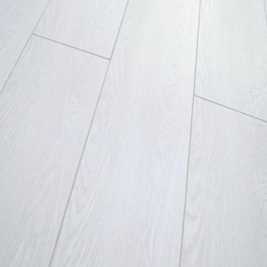 Vintage pure white 8mm v groove laminate flooring