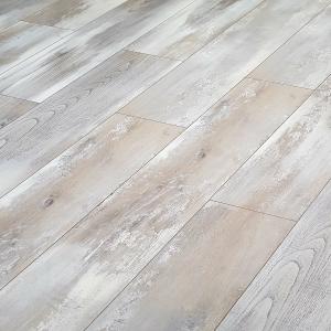 Krono oak hella white 8mm v groove laminate flooring