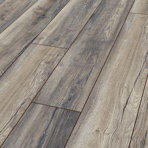 Krono harbour oak grey wide 8mm v groove laminate flooring