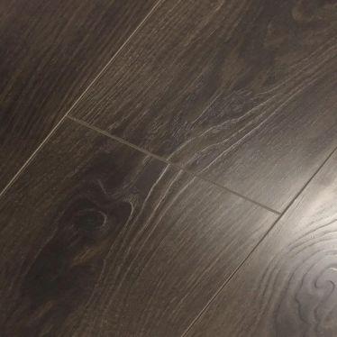 Dark antique oak 12mm v groove laminate flooring