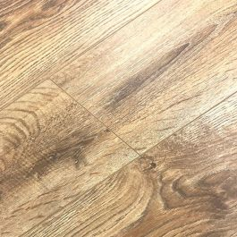 French Light Oak Laminate Flooring 12mm V Groove