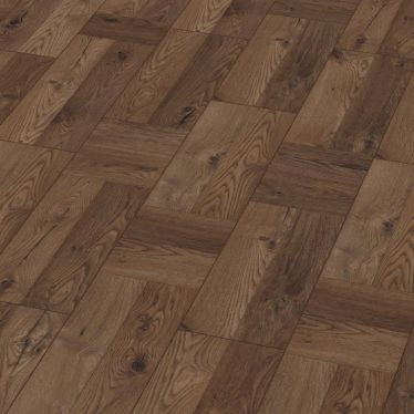 Krono palace oak dark 8mm v groove laminate flooring