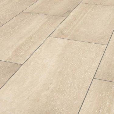 Krono 8mm Palatino travertine tile laminate flooring
