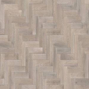 Herringbone whipped cream brushed matt lacquered 18mm solid wood flooring