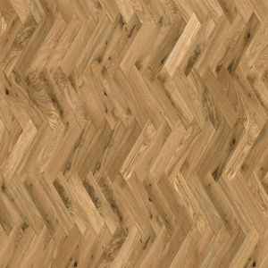 Herringbone brushed & matt lacquered 18mm solid wood flooring
