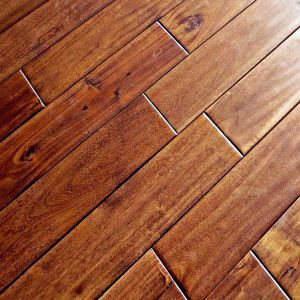 Acacia walnut lacquered 18mm solid wood flooring