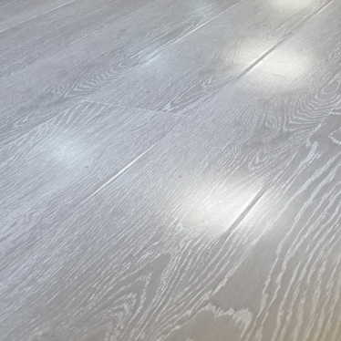 Vintage Light Grey Narrow Oak 8mm Gloss Laminate Flooring