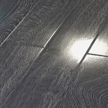 Vintage Dark Narrow Oak 8mm Gloss Laminate Flooring