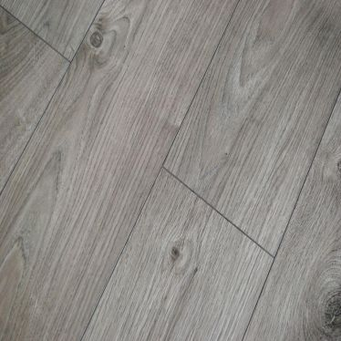 Kronotex Atlas oak anthracite 12mm V groove AC5 laminate flooring
