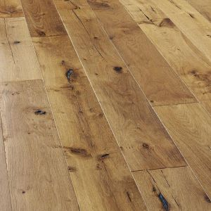 Natural Brushed oiled 190 wide click Engineered Wood Flooring