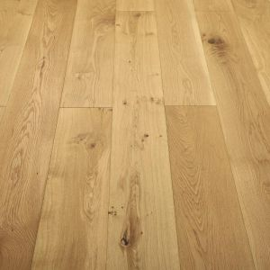 Click 150mm Natural rustic brushed and oiled engineered wood flooring