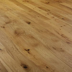 Oak rustic brushed and oiled engineered wood flooring