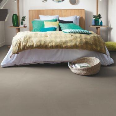 Quick Step: minimal taupe Livyn Ambient Click Luxury Vinyl Flooring Tiles LVT - AMCL40141