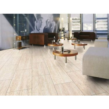 Krono 8mm travertine tile kitchen laminate flooring