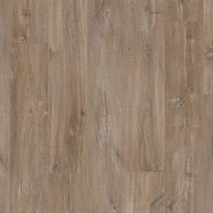 Quick Step: Canyon Oak Dark Brown With Saw Cuts Livyn Balance Click Luxury Vinyl Flooring Tiles LVT
