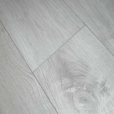 Krono silver grey oak laminate flooring in 8mm v groove