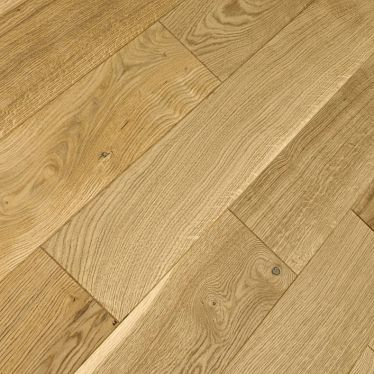 Natural oak 18mm brushed and oiled solid wood flooring