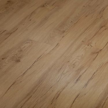 Natural oak distressed WPC luxury vinyl flooring tiles LVT Click flooring