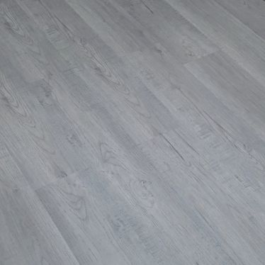 Light grey oak WPC luxury vinyl flooring tiles LVT Click flooring
