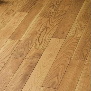 Natural oak brushed and oiled 90mm 18mm solid wood flooring