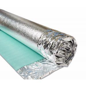 Acoustic Foam Underlay - Silver 3mm