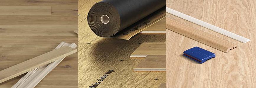 Install wood flooring